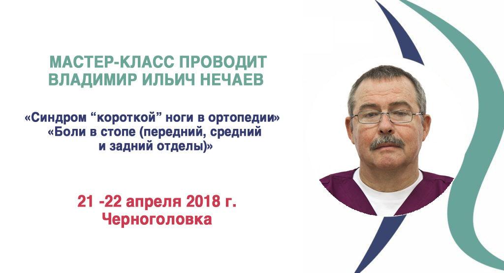 Серия мастер-классов ВЛАДИМИРА ИЛЬИЧА НЕЧАЕВА <br> 21 — 22 апреля